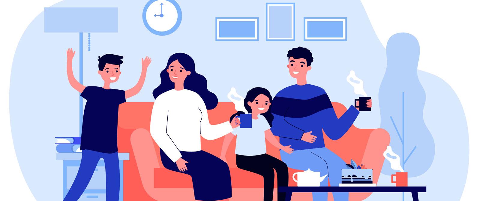 Vínculos positivos en la familia